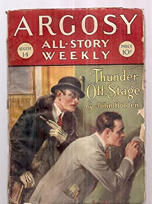ARGOSY ALL-STORY WEEKLY AUGUST 14, 1926 VOLUME CLXXIX NUMBER 5