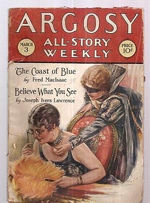 ARGOSY ALL-STORY WEEKLY MARCH 3, 1928 VOLUME: Argosy All-Story Weekly)
