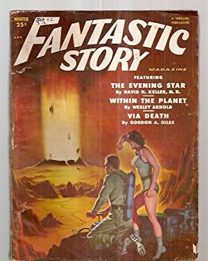 FANTASTIC STORY MAGAZINE WINTER 1952 VOL. 3: Fantastic Story) Mines,