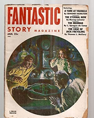 FANTASTIC STORY MAGAZINE JANUARY 1953 VOL. 5: Fantastic Story) [cover
