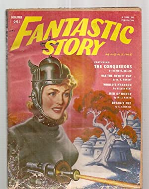 fantastic story cover by earle k bergey david h keller m f rupert