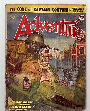 Adventure November 1948 Vol. 120 No. 1: Adventure) [cover by