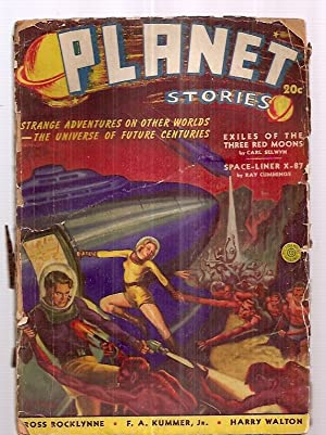PLANET STORIES SUMMER 1940 VOLUME 1 NO.: Planet Stories) [cover