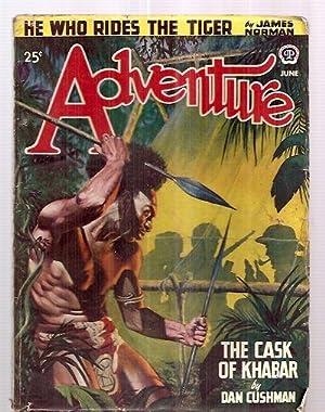 Adventure June 1947 Vol. 117 No. 2: Adventure) [cover by