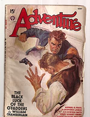 ADVENTURE MAY 1938 VOL. 99 NO. 1