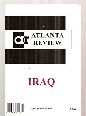 ATLANTA REVIEW VOLUME XIII, ISSUE NUMBER 2: Atlanta Review) Veach,