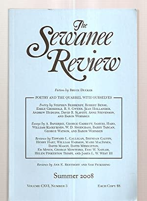 The Sewanee Review Summer July-September 2008 Volume: The Sewanee Review)