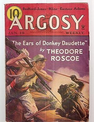 ARGOSY JANUARY 19, 1935 VOLUME 252 NUMBER: Argosy) [cover art