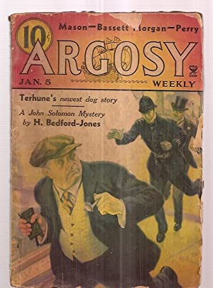 ARGOSY JANUARY 5, 1935 VOLUME 252 NUMBER: Argosy) [H. Bedford-Jones,