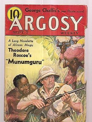 ARGOSY SEPTEMBER 7, 1935 VOLUME 258 NUMBER: Argosy) [George Challis