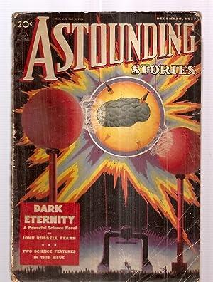 ASTOUNDING STORIES DECEMBER 1937 VOLUME XX NUMBER: Astounding Stories) [cover