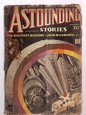 ASTOUNDING STORIES DECEMBER 1934 VOLUME XIV NUMBER: Astounding Stories) [cover