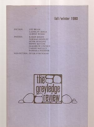 THE GREYLEDGE REVIEW FALL/WINTER 1980 [VOL. 2: The Greyledge Review)