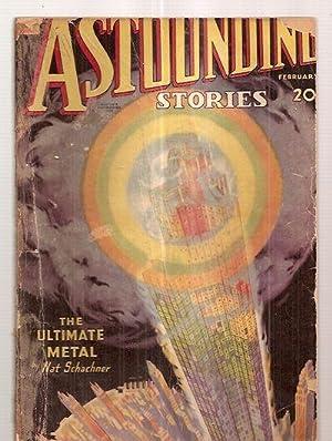 ASTOUNDING STORIES FEBRUARY 1935 VOLUME XIV NUMBER: Astounding Stories) [cover