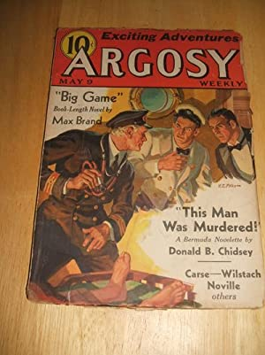 ARGOSY MAY 9, 1936 VOLUME 264 NUMBER: Argosy) [cover by