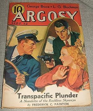 ARGOSY SEPTEMBER 12, 1936 VOLUME 267 NUMBER: Argosy) [cover art