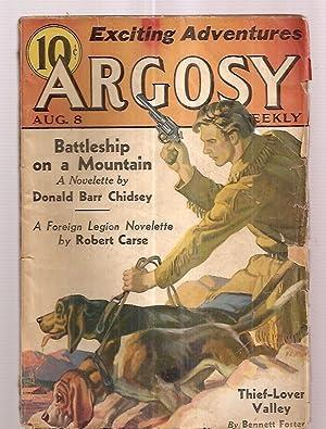 ARGOSY AUGUST 8, 1936 VOLUME 266 NUMBER: Argosy) [cover art