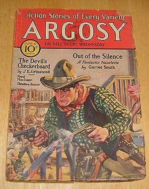 ARGOSY JUNE 6, 1931 VOLUME 221 NUMBER: Argosy) [cover by