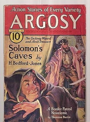 ARGOSY AUGUST 15, 1931 VOLUME 223 NUMBER: Argosy) [cover by