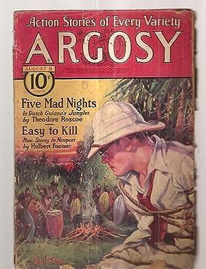 ARGOSY AUGUST 8, 1931 VOLUME 223 NUMBER: Argosy) [cover by