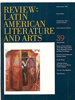 REVIEW: LATIN AMERICAN LITERATURE AND ARTS #39: Review: Latin American