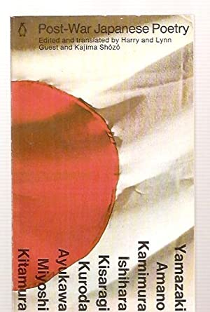 POST-WAR JAPANESE POETRY: Guest, Harry and