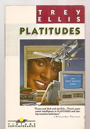 PLATITUDES: Ellis, Trey [cover