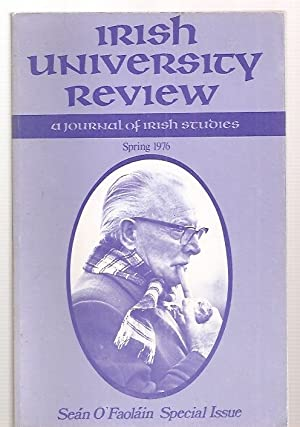 IRISH UNIVERSITY REVIEW: A JOURNAL OF IRISH: Irish University Review)