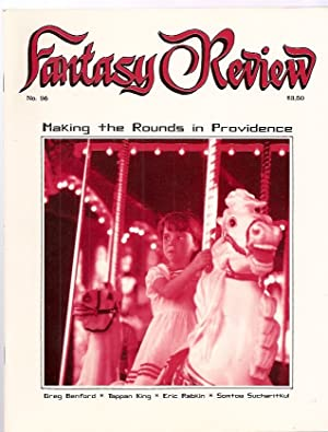 FANTASY REVIEW [formerly FANTASY NEWSLETTER] NOVEMBER 1986 VOL. 9 NO. 10, WHOLE #96