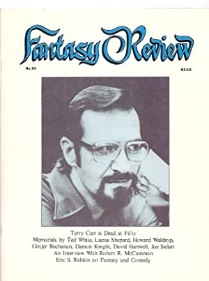 FANTASY REVIEW: THE LITERARY JOURNAL OF FANTASY & SCIENCE FICTION [formerly FANTASY NEWSLETTER] M...