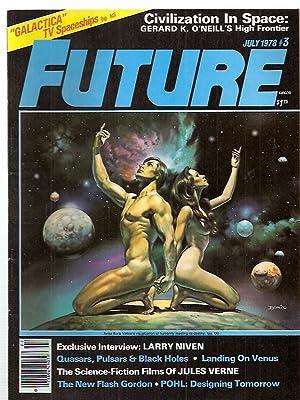 FUTURE: THE MAGAZINE OF SCIENCE ADVENTURE JULY: Future) [Howard Zimmerman,