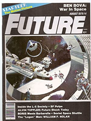 FUTURE: THE MAGAZINE OF SCIENCE ADVENTURE AUGUST: Future) [Howard Zimmerman,