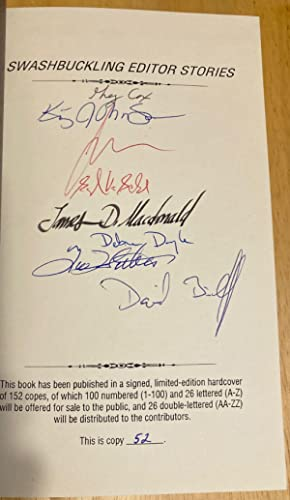 SWASHBUCKLING EDITOR STORIES: Betancourt, John Gregory