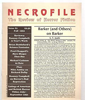 NECROFILE: THE REVIEW OF HORROR FICTION: ISSUE: Necrofile: The Review