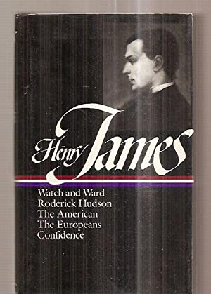 NOVELS 1871 --- 1880: WATCH AND WARD: James, Henry [notes
