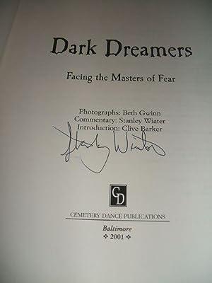 Dark Dreamers: Facing the Masters of Fear: Gwinn, Beth (photography)