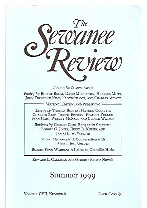 THE SEWANEE REVIEW SUMMER [JULY - SEPTEMBER]: The Sewanee Review)