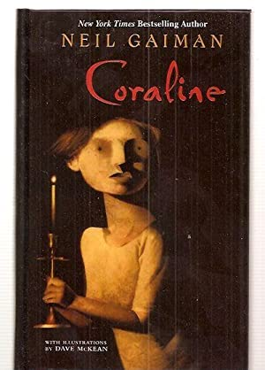 CORALINE [THORNDIKE PRESS LARGE PRINT YOUNG ADULT SERIES]: Gaiman, Neil [cover design by Hilary ...