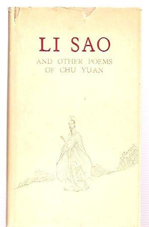 LI Sao and Other Poems of Chu: Yuan, Chu [translantion
