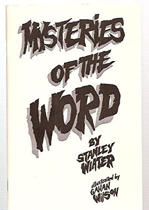 MYSTERIES OF THE WORD: A DARK FABLE: Wiater, Stanley [Gahan