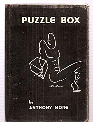 PUZZLE BOX: More, Anthony (pseudonym for Edwin M. Clinton Jr) [Dust Wrapper by St. Crain]