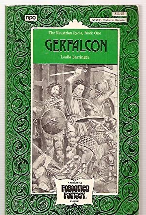 GERFALCON [THE NEUSTRIAN CYCLE: BOOK ONE] [THE: Barringer, Leslie [cover