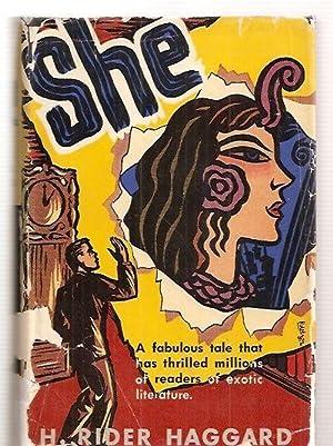 SHE [ART-TYPE EDITION: THE WORLD'S POPULAR CLASSICS]: Haggard, H. Rider