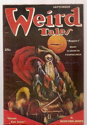 WEIRD TALES SEPTEMBER 1951 VOL. 43, NO.: Weird Tales) [H.