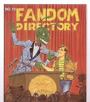 FANDOM DIRECTORY: NUMBER 10: 1988-1989 EDITION [VOL.: Hopkins, Mariane (editor)