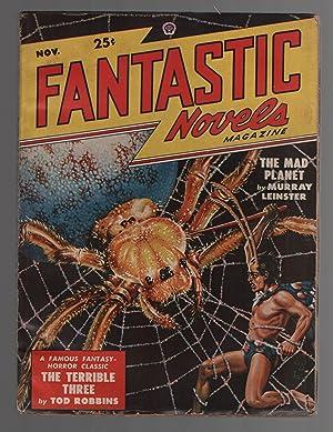 """Fantastic Novels Magazine November 1948 Vol. 2 No. 4 """"The Terrible Three"""": Fantastic ..."""