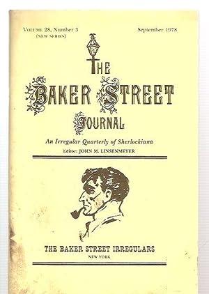 THE BAKER STREET JOURNAL: AN IRREGULAR QUARTERLY: Baker Street Journal,