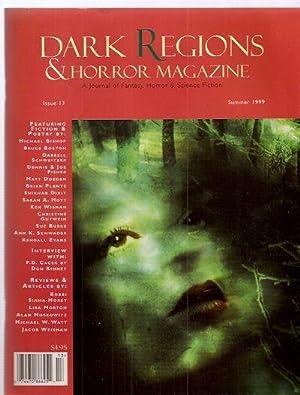 DARK REGIONS / HORROR MAGAZINE: ISSUE #13: Dark Regions /