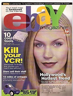 EBAY MAGAZINE PREMIERE ISSUE NOVEMBER 1999: eBay Magazine) Isaacson,