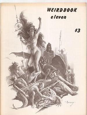 WEIRDBOOK ELEVEN [11]: Weirdbook) [cover art